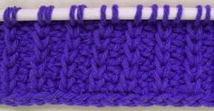 Tunisian Crochet-Rib Stitch