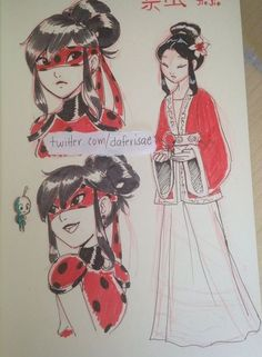 ladybug and chat noir gangster Ladybug Y Cat Noir, Meraculous Ladybug, Ladybug Comics, Lady Bug, Arte Copic, Les Miraculous, Marinette Ladybug, Character Art, Character Design