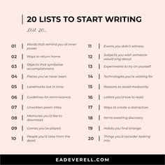 Pin for later! creative write, writers digest, writing workshops, writers workshops, writing tip
