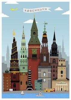 Homage to #Copenhagen poster
