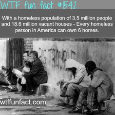 How many homeless people in U.S. - wtf fun facts