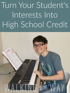 Turn Your Student's Interests into High School Credit • One huge benefit of homeschooling is that our kids can dive into an interest and earn high school credit at the same time.  What Subjects Can Be Interest-Led? Anything!