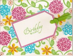 Stampin Up Flower Factory