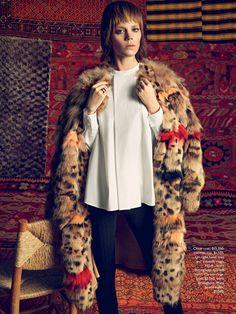 Vogue Australia September 2014 Folk Tale Photographer: Inez van Lamsweerde & Vinoodh Matadin Fashion Editor: Melanie Ward Hair: Shay Ashual Makeup: Yadim Fur coat by … Read More