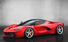 2014 Red Ferrari, La Ferrari, Super Car - http://www.fullhdwpp.com/transportation/cars/2014-red-ferrari-la-ferrari-super-car/