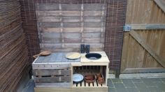 Mud pie kitchen voor Evie