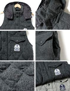 6dcca34b1d8 FIDELITY quilting    herringbone    wool down vest. Leah Lyman · Men s  Outerwear - Insulated