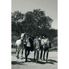 Bimba te echaremos mucho mucho de menos. (Fotografía: @therealpeterlindbergh).  via VOGUE SPAIN MAGAZINE OFFICIAL INSTAGRAM - Fashion Campaigns  Haute Couture  Advertising  Editorial Photography  Magazine Cover Designs  Supermodels  Runway Models