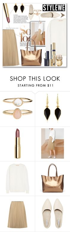 """""""Untitled #1785"""" by juyliana-vl ❤ liked on Polyvore featuring Accessorize, Isabel Marant, H&M, Marni and Estée Lauder"""