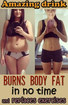 Amazing drink that burns body fat in no time and replaces exercises - BeautyHealther.com