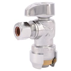 SharkBite Straight Stops combine push-fit technology with a straight stop quarter turn valve. This allows the valve to control water flow to household plumbing fixtures, and provides easy shut-off of water flow for maintenance and repair, if necessary. These valves require no solder, clamps, unions or glue. The push-to-connect end allows you to push on …