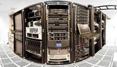Примерно так выглядит серверная