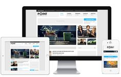 Point --- Point is a FREE fluid responsive theme that is multipurpose and flexible. Through the advanced...