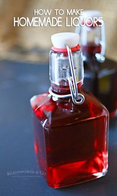 How to Make Homemade Liquors or homemade brandy. This homemade fruit brandy reci… How to Make Homemade Liquors or homemade brandy. This homemade fruit brandy recipe is so easy & makes excellent gifts for the holidays or any occasion. Homemade Liqueur Recipes, Homemade Alcohol, Homemade Liquor, Moonshine Recipes Homemade, Liquor Drinks, Alcoholic Drinks, Bourbon Drinks, Fruit Drinks, Cocktail Drinks