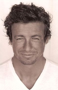 "From another pinner: ""Posting only to say Simon Baker (Patrick Jane - The Mentalist) has become my new favorite on TV.His character amuses me.I'd like to be The Mentalist!"" I agree Simon Baker, Patrick Jane, Famous Men, Famous Faces, Pretty People, Beautiful People, Eye Candy, Photo Portrait, The Mentalist"