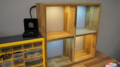 Awesome Wooden Furniture Display With LED's - All