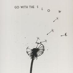 Go with the flow. #töissä #radissonblu #palaveripäivä #juliste #mietelause #juliste