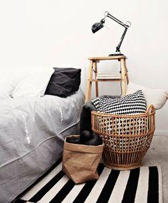 北欧寝室デコレーション
