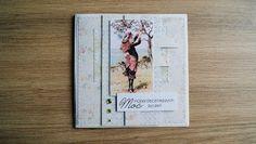 Charming Little Things. Twórczość, pasja, inspiracja.: Urodzinowa kartka vintage - cardmaking