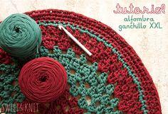 Sweet&Knit: Tutorial Alfombra de Ganchillo XXL