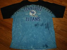 Tennessee Titans Football Tie Dye T-Shirt tee Men s 2XL 2X-Large Liquid Blue 1dbc65ae5