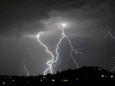 How to take pictures of a lightning storm