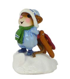 Wee Forest Folk M-418a  SLIPPERY SLOPE - LIMITED EDITION - Retired
