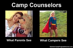 So true! Counselors build amazing relationships with the campers!