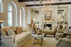 Mediterranean Style Homes Interior Designing And