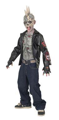 Kid's Zombie Costume - Punk Rocker Zombie