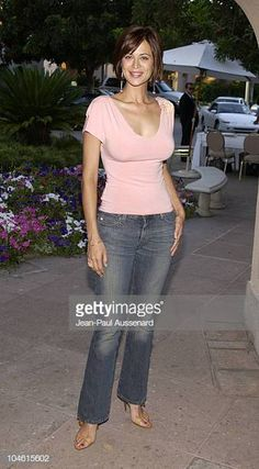 Catherine Bell during CBS Summer 2002 Press Tour & Party at Ritz Carlton Hotel in Pasadena, California, United States. Get premium, high resolution news photos at Getty Images The Hollywood Reporter, Hollywood Walk Of Fame, Hotels In Pasadena, Pasadena California, Katherine Bell, Bbc, David James Elliott, The Pursuit Of Happyness, Bell Pictures