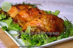 sovracosce di pollo marinate