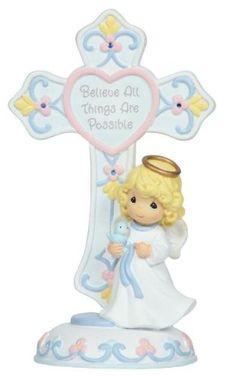 .September Birthstone Angel Cross