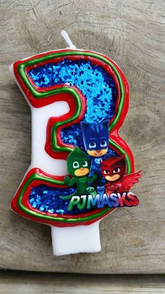 PJ Masks Birthday Candle Owlette Catboy by LilMonkeyStitchesWV Fourth Birthday, 4th Birthday Parties, Birthday Diy, Birthday Ideas, Pj Masks Birthday Cake, Mask Party, Birthday Candles, Ale, Party Ideas
