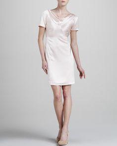 Try this hammered-silk piece (ZacPosen) & slink down that aisle. $364 (reg$1890) #Bargain #CasualWedding