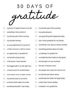 Gratitude Journal Prompts, Gratitude Ideas, Gratitude Quotes Thankful, Bullet Journal Prompts, Writing In A Journal, Gratitude Tattoo, Attitude Of Gratitude Quotes, Journal Prompts For Kids, Words Of Gratitude