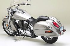 Honda VTX Retro - Streamlined saddlebags that look like they've always been there? Sign me up!