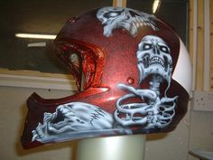 airbrushed helmets | Airbrushed Motorcycle Helmets