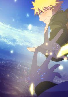 That's Sasuke's hand.