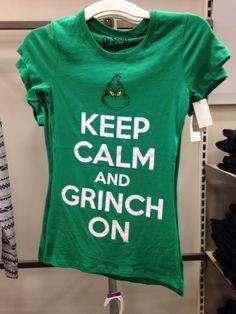 Grinch shirt - Christmas Eve @ Universal