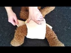 Prefold Cloth Nappy Fold: Angel Wing Fold - YouTube