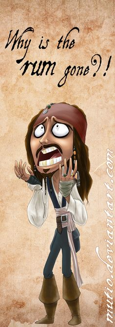 Jack Sparrow Bookmark