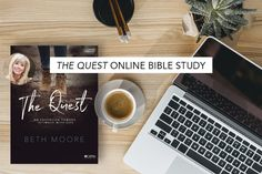 Welcome to Session 1 of The Quest online Bible study by Beth Moore! We're excited to start this journey of pursuing intimacy with God with you. Over the next six weeks, … Beth Moore Bible Study, Online Bible Study, Bible Study Journal, King Jesus, True Identity, July 31, Bible Studies, S Word, Learn To Read