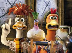 Chicken Run!  What do we need? THRUST!