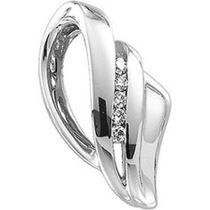 Platinum Diamond Pendant/Slide - 0.20 Ct. Gems-is-Me. $2076.47. FREE PRIORITY SHIPPING. This item will be gift wrapped in a beautiful gift bag. In addition, a 'gift message' can be added.