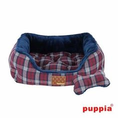 Theodore House Dog Bed by Puppia