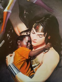 Wonder Woman, Spirit Of Truth. Alex Ross. I love this artist's comic work. It is beautiful. Makes me want to draw