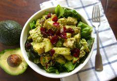 The Ultimate Avocado Waldorf Chicken Salad #justeatrealfood #primalbitesblog