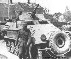 Sdkfz 251/10, ausf. B.