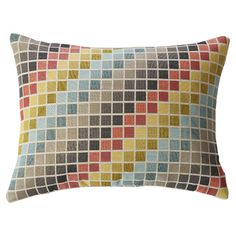 Found it at Wayfair.ca - Tetris Lumbar Pillow